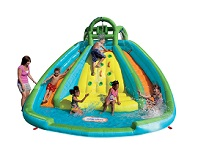 Little Tikes Rocky Mountain River Race Water Slide Bouncer